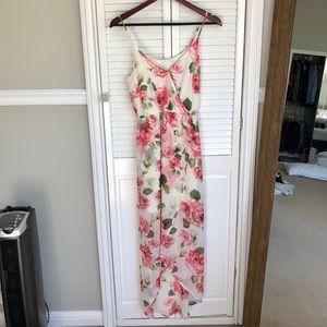 Flower Lush High Low Dress